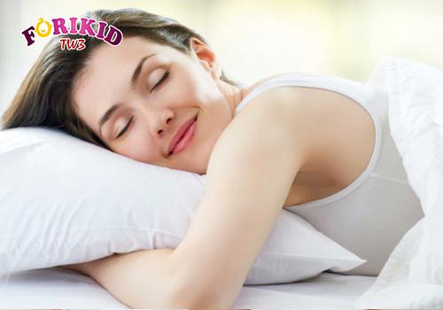 Giữ cơ thể mát mẻ để tránh ra mồ hôi trộm ban đêm