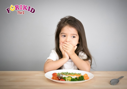 Sự thay đổi trong sinh lý của trẻ gây biếng ăn