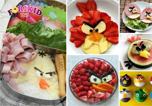 Trang trí món ăn đẹp mắt để kích thích sự thèm ăn cho con