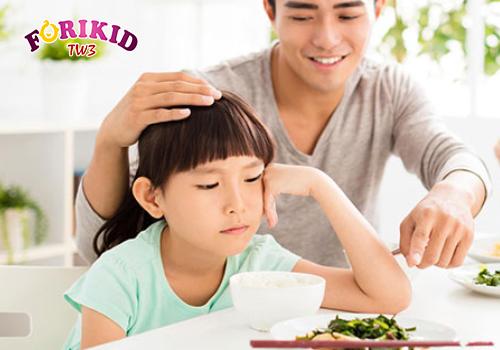 Trẻ ốm vặt dẫn đến chứng biếng ăn