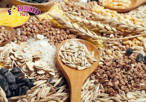 Các loại ngũ cốc đều là những thực phẩm có hàm lượng chất xơ cao.