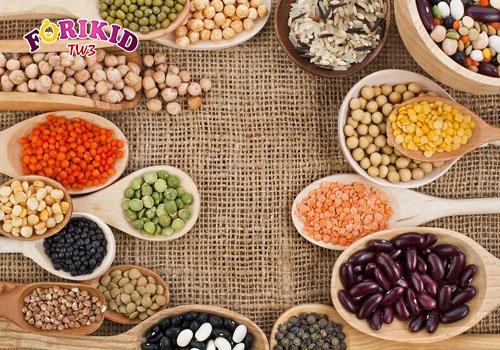 Các loại đậu giúp tăng cường chất xơ và protein thực vật đồi dào