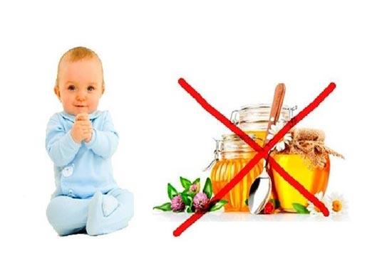 Trẻ dưới 12 tháng tuổi sử dụng mật ong có thế gây ra một số kích ứng