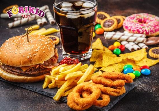 Các loại thức ăn nhanh không tốt cho hệ tiêu hóa của trẻ