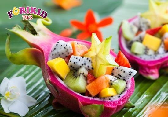 Bổ sung các loại hoa quả mát hàng ngày giảm nóng trong cho bé