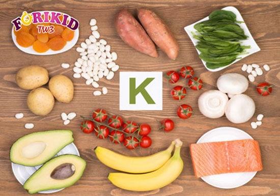 Các loại thực phẩm chứa Kali kích thích sự thèm ăn ở trẻ