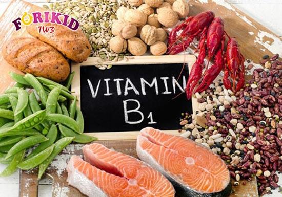 Bổ sung những thực phẩm chứa vitamin B1 giúp kích thích trẻ ăn ngon miệng