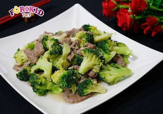 Thịt bò xào bông cải xanh là món ăn vừa bổ dưỡng, vừa tốt cho tiêu hóa