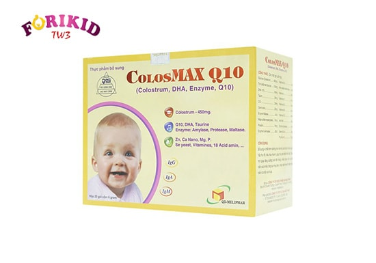 Thuốc bổ cho trẻ chậm lớn Colosmax