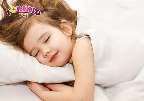 Có một giấc ngủ ngon sẽ giúp trẻ phát triển đồng đều và tốt cho chiều cao của trẻ