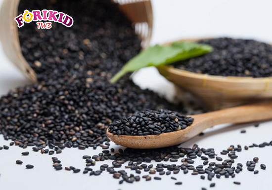 Hạt mè đen không chỉ chứa hàm lượng dinh dưỡng cao mà còn có rất dồi dào chất xơ