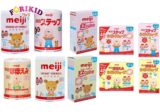 Sữa Meiji là thương hiệu sữa uy tín được nhiều mẹ lựa chọn còn nguồn gốc từ Nhật Bản