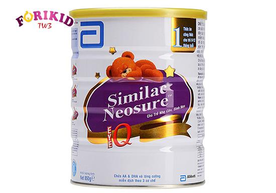 Sữa Similac Neosure là lựa chọn của rất nhiều bà mẹ để bồi bổ cho con vừa ốm dậy