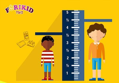Nếu không đạt các mốc phát triển định kỳ thì khả năng cao là trẻ đang chậm phát triển chiều cao