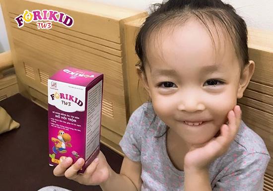 Forikid TW3 – Thuốc bổ dành cho trẻ mới ốm dậy giúp phục hồi nhanh chóng
