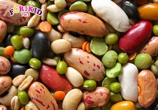 Các loại đậu cũng là lựa chọn bổ sung phù hợp cho tình trạng táo bón ở trẻ 1 tuổi