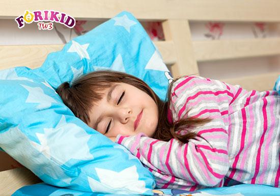 Giấc ngủ có tác động vô cùng quan trọng tới khả năng cao lớn và phát triển ở trẻ